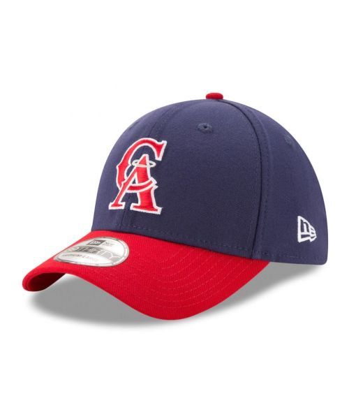 New Era Los Angeles Angels MLB Team Classic 39THIRTY Stretch Fit Adult Hat Navy Blue