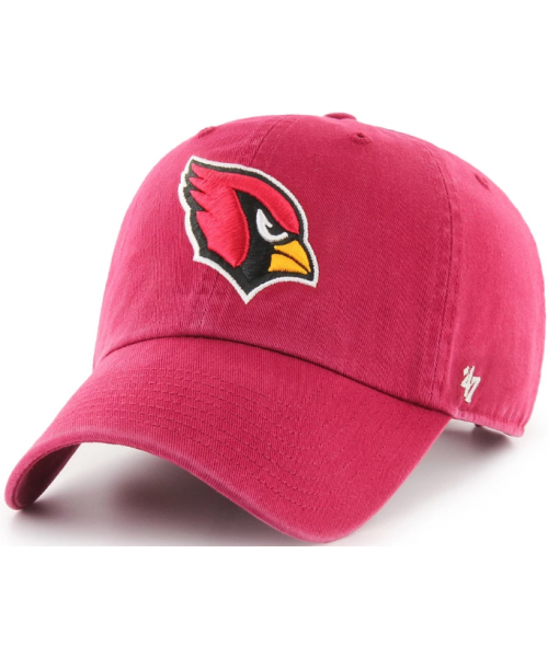 '47 Brand Arizona Cardinals NFL Clean Up Adjustable Strapback Hat Maroon
