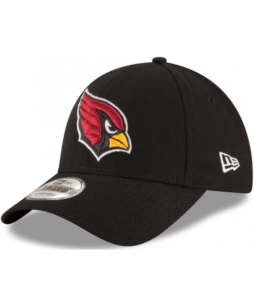New Era Arizona Cardinals NFL The League 9FORTY Velcroback Adjustable Hat Black