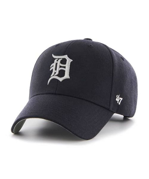 '47 Brand Detroit Tigers MLB MVP Adjustable Adult Hat Navy Blue