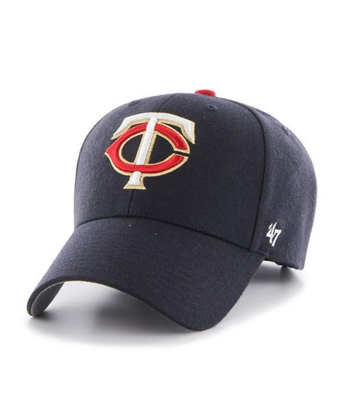 '47 Brand Minnesota Twins MLB MVP Adjustable Adult Hat Navy Blue