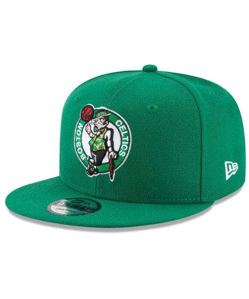 New Era Boston Celtics NBA Basic 9FIFTY Snapback Hat Green