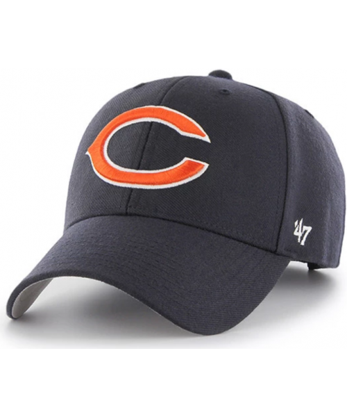 '47 Brand Chicago Bears NFL MVP Adjustable Strapback Hat Navy Blue