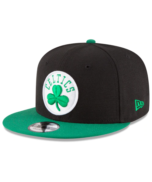 New Era Boston Celtics NBA 2TONE OTC 9FIFTY Snapback Hat Black Green