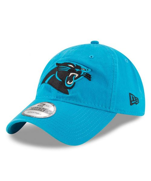 New Era Carolina Panthers NFL Core Classic 9TWENTY Adjustable Adult Hat Teal
