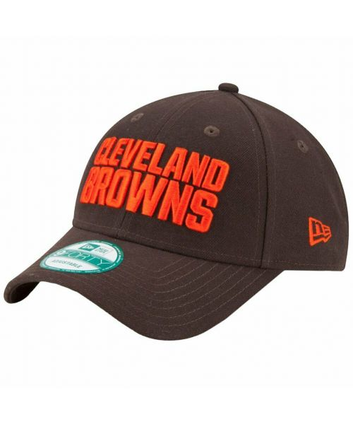 New Era Cleveland Browns NFL The League 9FORTY Velcroback Hat Brown