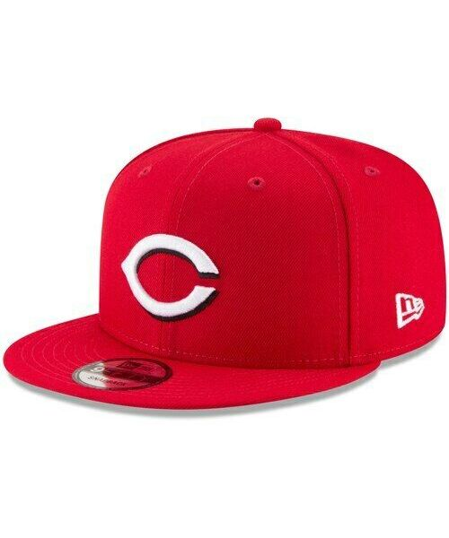 New Era Cincinnati Reds MLB Basic Snap OSFA 9FIFTY Snapback Hat Red