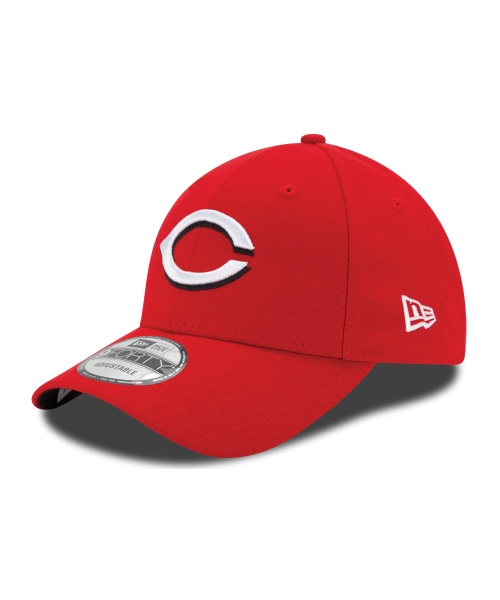 New Era Cincinnati Reds MLB The League YOUTH 9FORTY Velcroback Hat Red