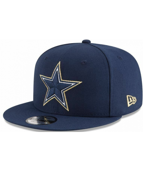 New Era Dallas Cowboys NFL Tribute Flip 5X Super Bowl Champ 9Fifty Snapback Navy Blue