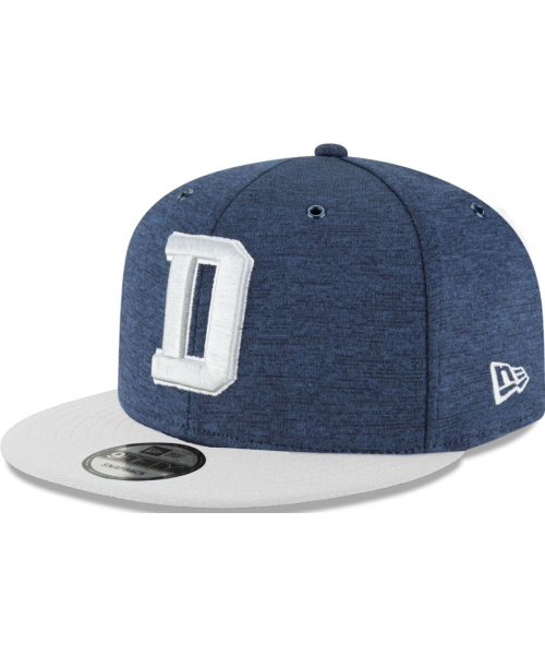 New Era Dallas Cowboys NFL Sideline Home 9Fifty Hat Cap Navy Blue