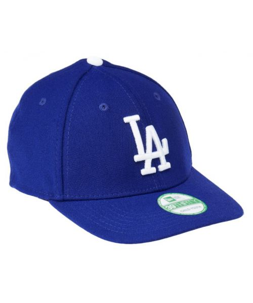New Era Los Angeles Dodgers MLB Youth Team Classic GAME 39THIRTY Stretch Fit Hat Blue-Toddler-Child