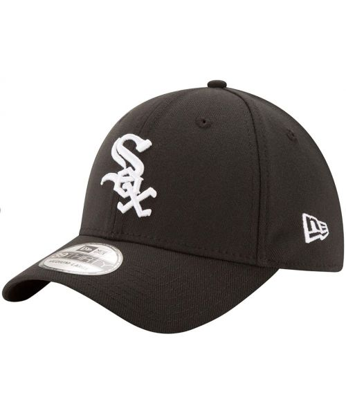 New Era Chicago White Sox MLB Team Classic 39THIRTY Stretch Fit Kids Hat Black