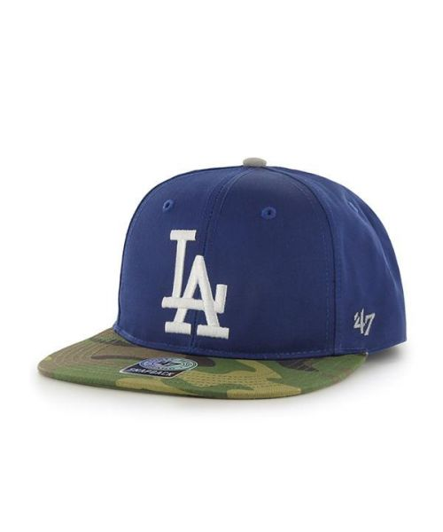 47 Brand Los Angeles Dodgers MLB Surveillance Kid s Captain Adjustable Snapback  Hat Blue Camo af5db1f4a7a4
