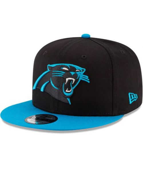 New Era Carolina Panthers NFL Kid Baycik 9FIFTY Snapback YOUTH Hat Black Teal