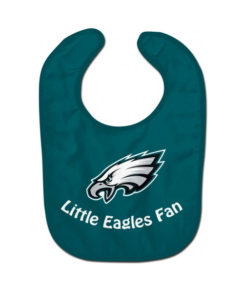 Wincraft Philadelphia Eagles NFL little Eagles Fan Authentic All Pro Baby Bib Green