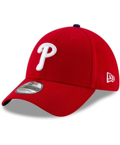 New Era Philadelphia Phillies MLB Team Classic 39THIRTY Stretch Fit Adult Hat Red