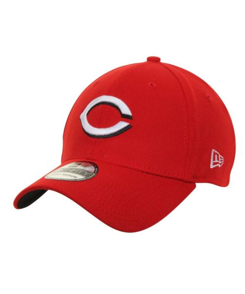 New Era Cincinnati Reds MLB Team Classic 39THIRTY Stretch Fit Adult Hat Red