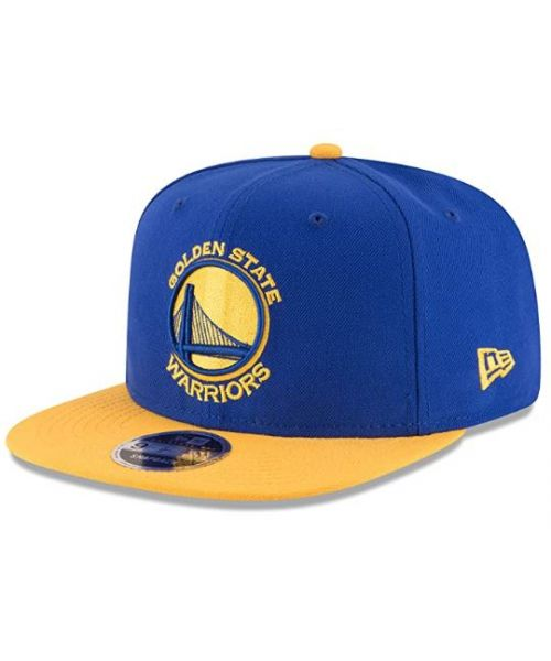 New Era Golden State Warriors NBA 2Tone 9FIFTY Snapback Adult Hat Blue