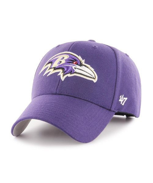 '47 Brand Baltimore Ravens NFL MVP Adjustable Adult Hat Purple