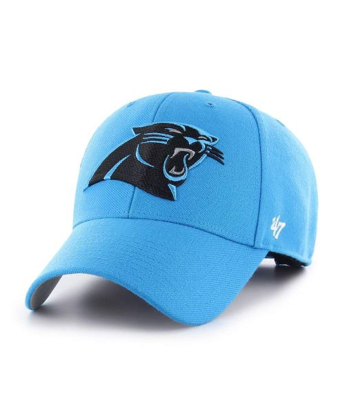 '47 Brand Carolina Panthers NFL MVP Velcroback Hat Carolina Blue
