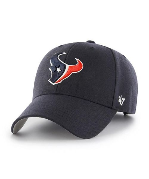 '47 Houston Texans NFL MVP Velcroback Hat Navy Blue