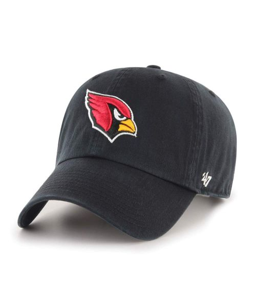 '47 Brand Arizona Cardinals NFL Clean Up Adjustable Adult Hat Black