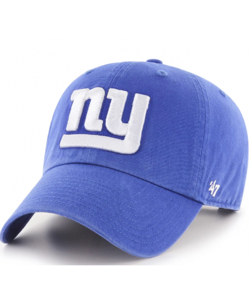 '47 Brand New York Giants NFL Clean Up Adjustable Strapback Hat Blue