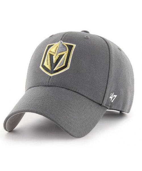 '47 Brand Vegas Golden Knights NHL MVP Velcroback Hat Graphite