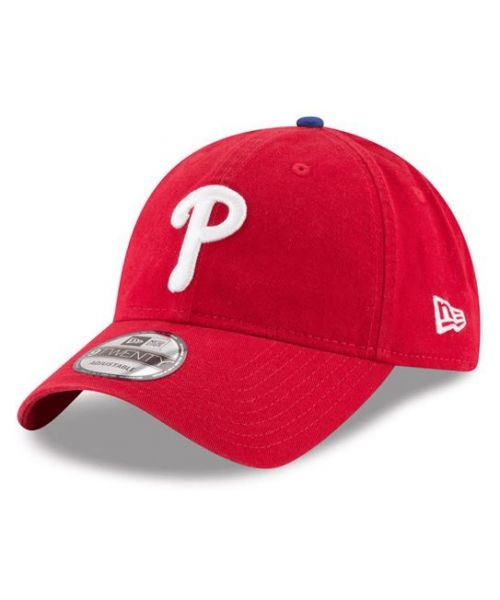 New Era Philadelphia Phillies MLB Core Classic 9TWENTY Strapback Hat Red