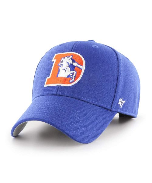 '47 Brand Denver Broncos NFL MVP Adjustable Adult Hat Blue