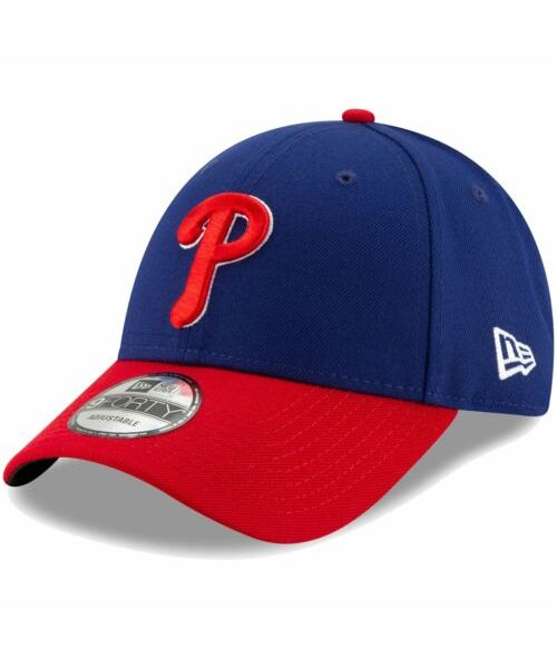 New Era Philadelphia Phillies MLB The League 9FORTY Adjustable Adult Hat Blue Red