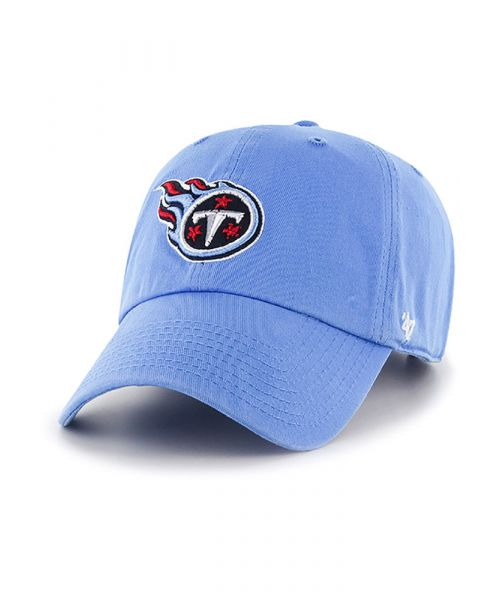 '47 Brand Tennessee Titans NFL Clean Up Adjustable Adult Hat Light Blue