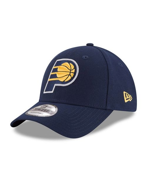 New Era Indiana Pacers NBA The League OT 9FORTY Velcroback Hat Navy Blue