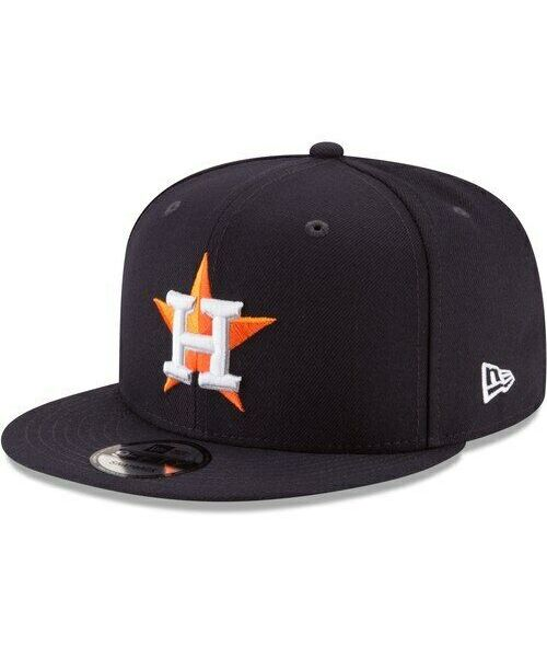 New Era Houston Astros MLB Basic Snap OTC 9FIFTY Snapback Hat Navy Blue