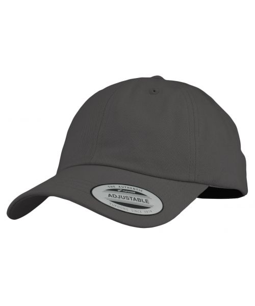 Yupoong The Classics Blank Adjustable Strapback Hat Graphite