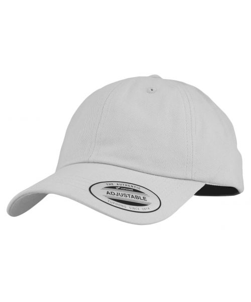 Yupoong The Classics Blank Adjustable Strapback Hat Light Gray