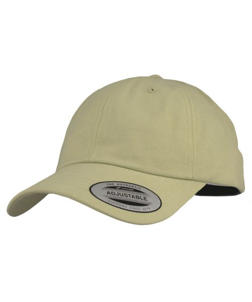 Yupoong The Classics Blank Adjustable Strapback Hat Tan