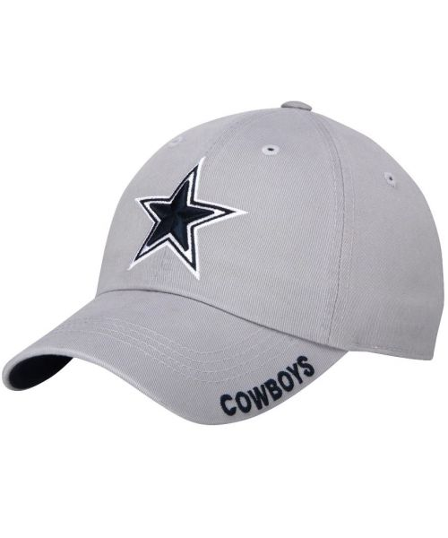 DCM Dallas Cowboys NFL Slouch Adjustable Strapback Hat Gray