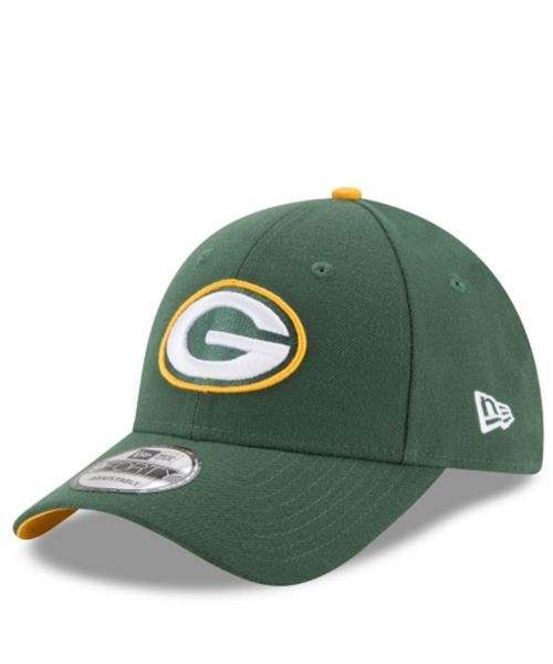 New Era Green Bay Packers NFL The League 9FORTY Velcroback Hat Green