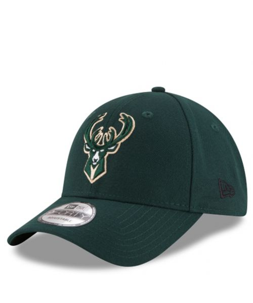 New Era Milwaukee Bucks NBA The League OTC 9FORTY Velcroback Hat Green