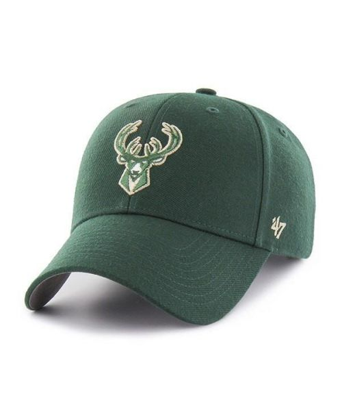 '47 Milwaukee Bucks NBA MVP Velcroback Hat Green