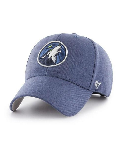 '47 Minnesota Timberwolves NBA MVP Velcroback Hat Timber Blue