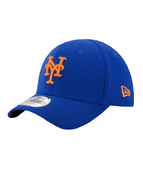 New Era New York Mets MLB Team Classic TODDLER 39THIRTY Stretch Fit Hat Blue
