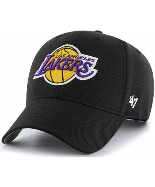 '47 Brand Los Angeles Lakers NBA MVP Adjustable Velcroback Hat Black