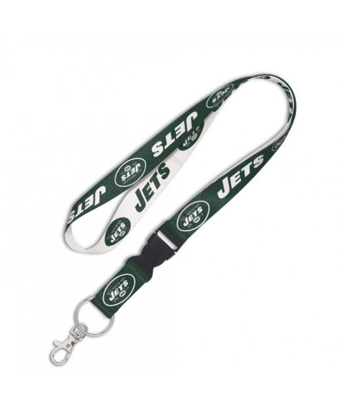 Wincraft New York Jets NFL Authentic Lanyard with Detachable Buckle Green White