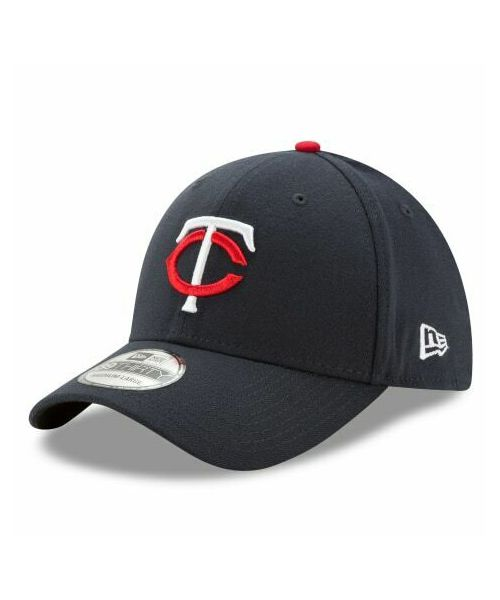New Era Minnesota Twins MLB Team Classic 39THIRTY Stretch Fit Adult Navy Blue