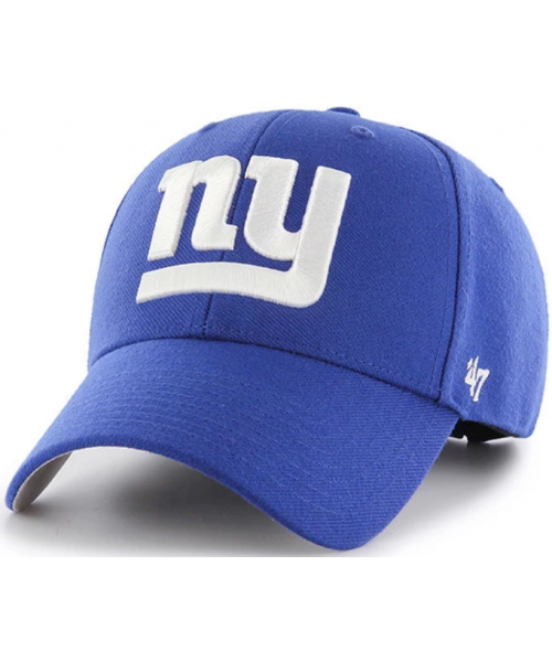 '47 Brand New York Giants NFL MVP Adjustable Velcroback Hat Blue