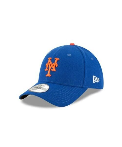 New Era New York Mets MLB The League OSFA 9FORTY Velcroback Hat Blue