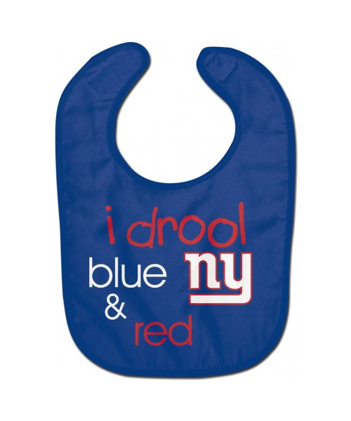 Wincraft New York Giants NFL Authentic All Pro Baby Bib Blue