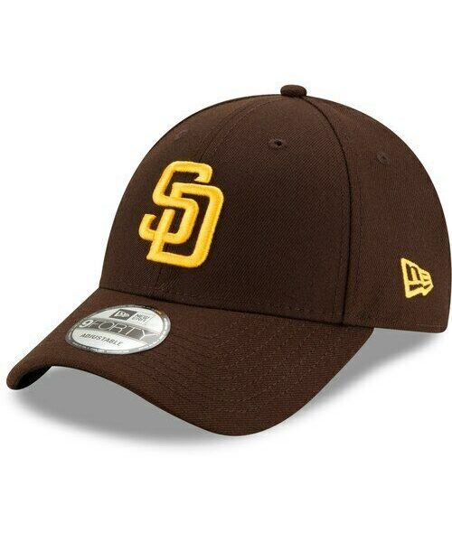 New Era San Diego Padres MLB The League OSFM 9FORTY Velcroback Hat Brown